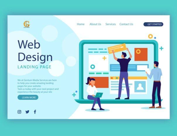 Gentum Media Services, the leading web design company in Kenya