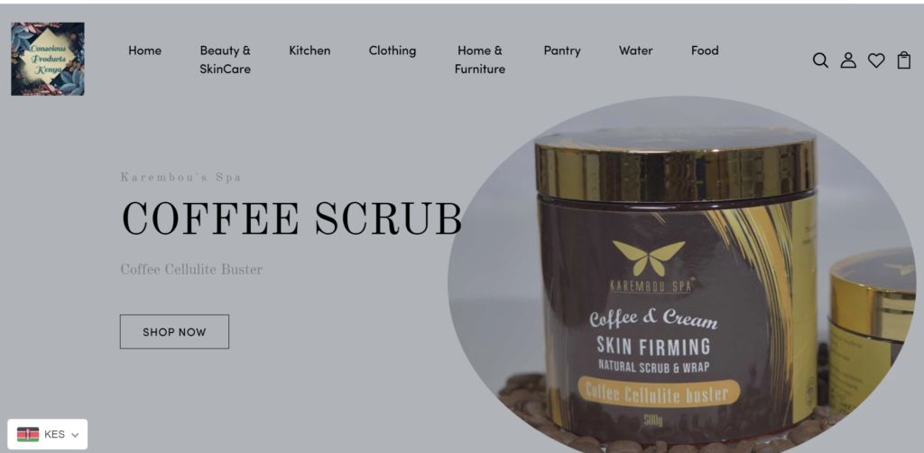 Conscious Products and services