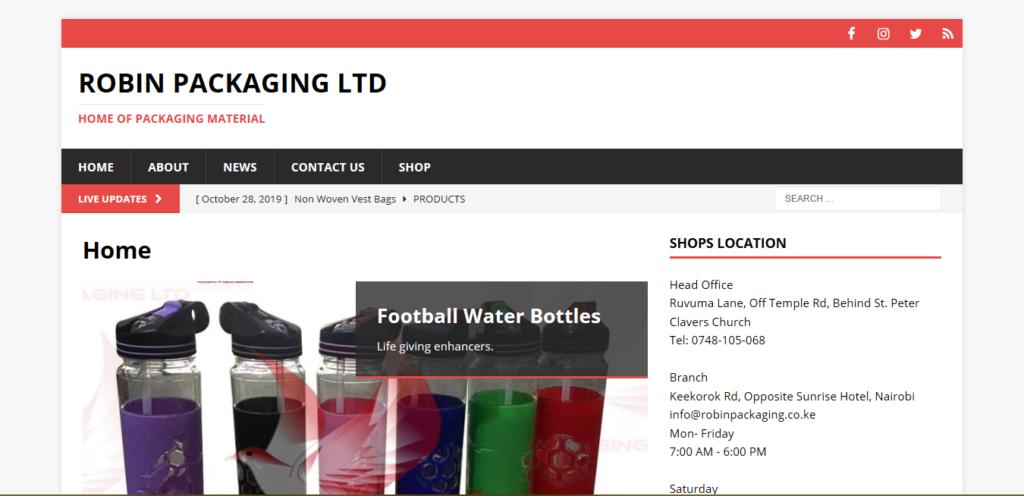 Robin Packaging Ltd