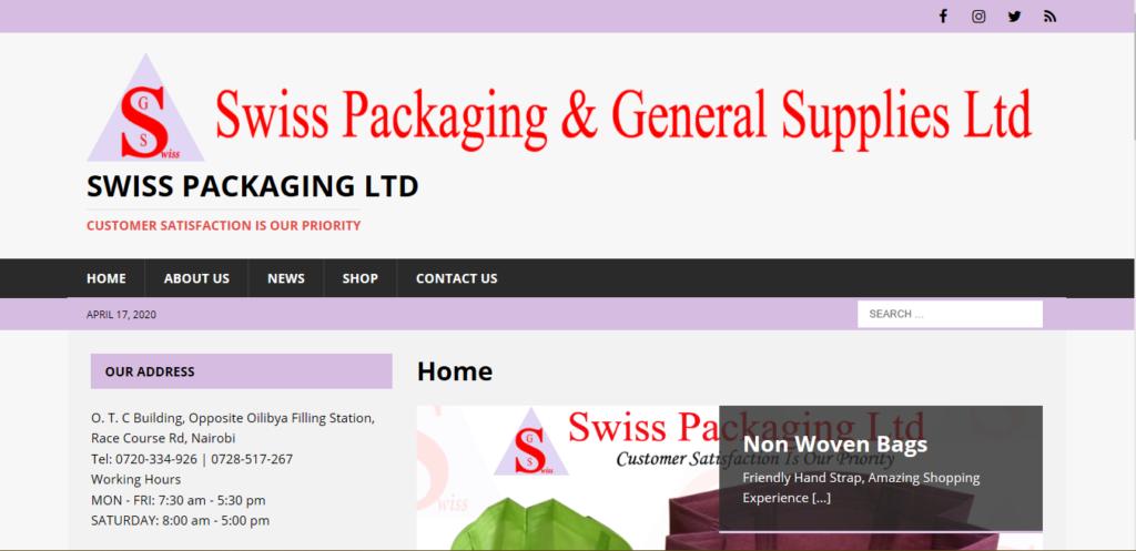 Swiss Packaging Ltd