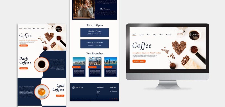 Web design project